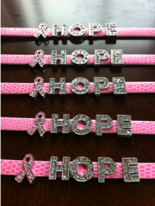 Image of &quot;Hope&quot; for a Cure Bracelet