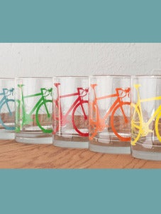 Image of Road Bike Rocks Glasses - Set of Two