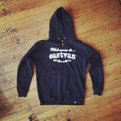 Image of WELCOME TO EASTVEN: ZIP HOODIE