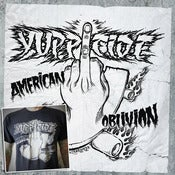 Image of American Oblivion CD + T-shirt COMBO