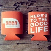 Image of Hear Nebraska Koozies