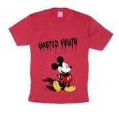 Image of Wasted Youth Tee in Heather Red