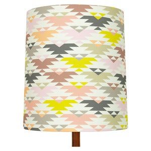 Image of Navaho Print Lamp Shade (random), Heather
