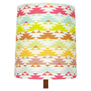 Image of Navaho Print Lamp Shade (stripe), Waimea