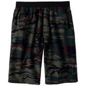 Image of prAna Mojo Khaki Camo Mens Yoga Shorts