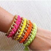 Image of Rainbow Friendship Bracelet
