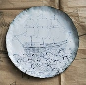 Image of Enamel Ship Plate