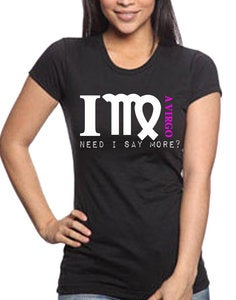 "Image of ""I'm A VIRGO"" t-shirt"