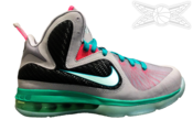 "Image of LeBron 9 ""SOUTH BEACH"" GS"