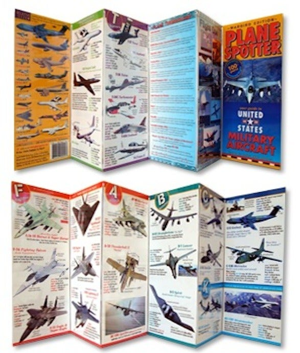 Image of NEW Military Plane Spotter Guide