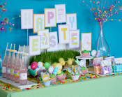 Image of DIY EASTER printable Collection: I heart the Easter Bunny by Wants and Wishes