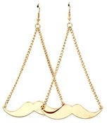 Image of Mustache Earrings