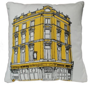 Image of East End Pub Crawl Cushion, THE TEN BELLS