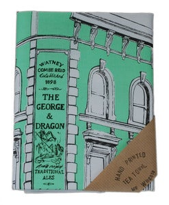Image of George and Dragon Tea Towel