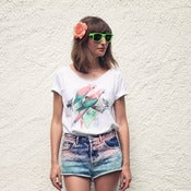Image of T-shirt Parrot Garden ~ Women