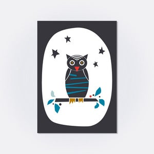 Image of LE HIBOU . Carte postale