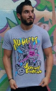 "Image of Johnny Gargano ""All Heart"" T-Shirt"