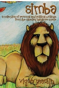 Image of Vique Martin &quot;Simba: A Collection of Personal and Political Writings from the 90s Hardcore Scene&quot;