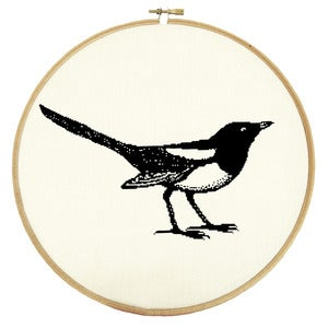 Image of Mr Magpie PDF Pattern