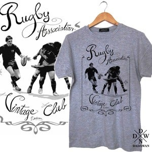 Image of T-shirt Rugby Vintage Club by Dadawan