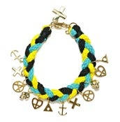 Image of NEMO BRACELET - YELLOW/BLUE/BLACK