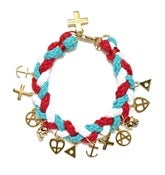 Image of NEMO BRACELET - RED/WHITE/BLUE