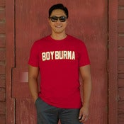 Image of Boy Burma Red Flames Guys