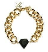 Image of NEPTUNE BRACELET - GOLD/BLACK