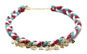Image of NEMO NECKLACE - RED/WHITE/BLUE