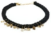 Image of NEMO NECKLACE - BLACK