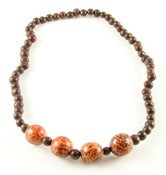 Image of Azaid Bombona Necklace Brown