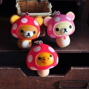 Image of Strap Kawaii Rilakkuma champignon