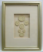 "Image of Framed Intaglios - ""Faith"" Design"