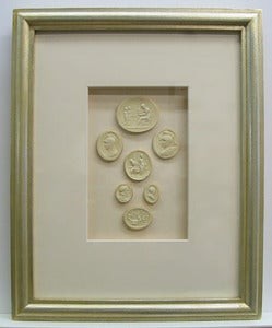 Custom framed intaglios