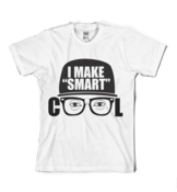 "Image of I Make ""Smart"" Cool Logo Tee in White"
