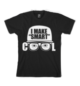 "Image of I Make ""Smart"" Cool Logo Tee in Black"