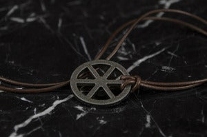 Image of Tehlu's Iron Wheel Pendant