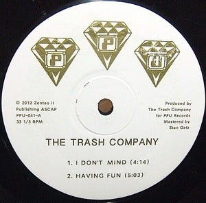 "Image of THE TRASH COMPANY / HAVING FUN / PPU-041 12""EP"