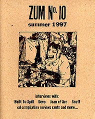 Image of Zum 10 magazine w/ Zum Audio Vol 1 CD
