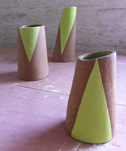 Image of Triangle Vases