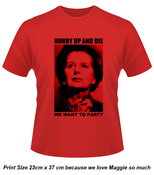 Image of Maggie Hurry Up and Die T-Shirt