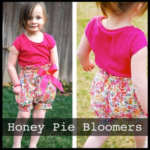 Image of Honey Pie Bloomers Pattern 12m-6 years