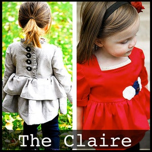 "Image of The ""Claire"" Top/dress 6m-4T"
