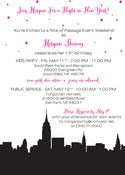 Image of NY Skyline Invitation