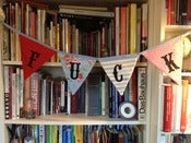 Image of Simple, straight-forward rude bunting
