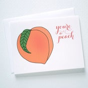 Image of You're a Peach Card