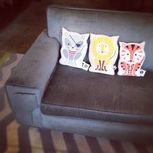 Image of Sass & Peril animal pillows