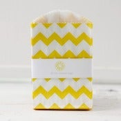 Image of Mini Yellow Chevron Bags