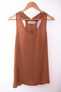 Plain Brown Tank
