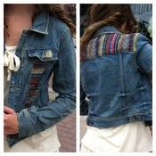 Image of free people denim jacket